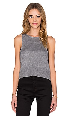 One Grey Day Lynx Tank in Smoke Grey