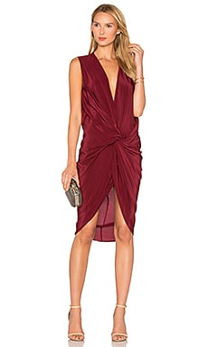 Elana Dress in Black Cherry