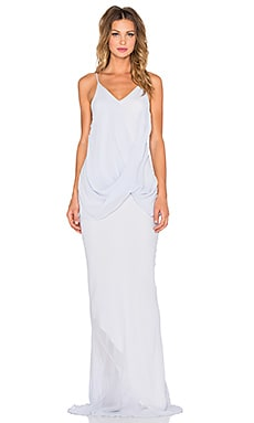 One Fell Swoop Twisted Slip Dress in Periwinkle
