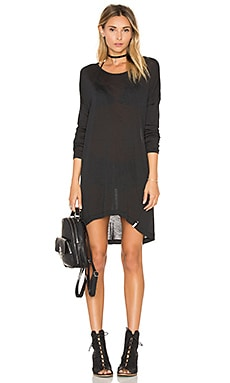 Soho Wool Dress en Negro