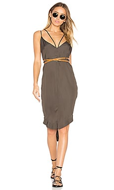 The Le Freak Dress in Khaki