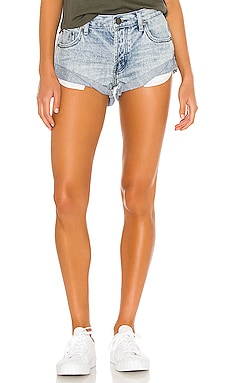 Bandits Denim Short One Teaspoon $99