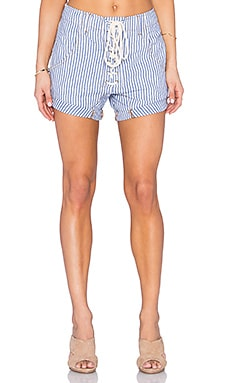 One Teaspoon Hampton Superfreaks Short in Club Blue