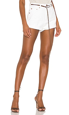 Bandits High Waist Denim Short One Teaspoon $114
