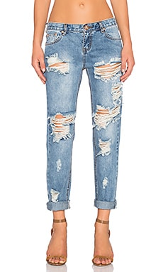 JEAN BOYFRIEND AWESOME BAGGIES