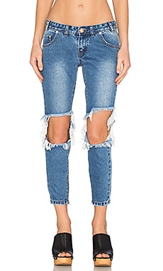 JEAN CROPPED FREEBIRDS