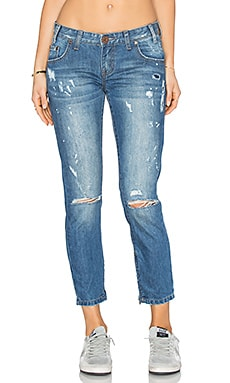 JEANS CROPPED FREEBIRDS