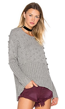 One Teaspoon Snow Valley Sweater in Grey Marle