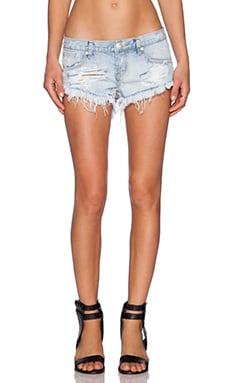 One Teaspoon Wilde Bonitas Jean Shorts in Wilde