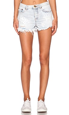 One Teaspoon Romeo Short in Diamonde