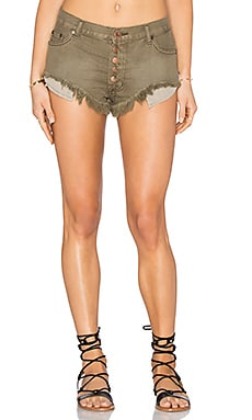 One Teaspoon Rollers Short in Khaki