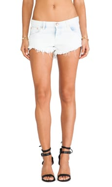 One Teaspoon Bonita Cut Off Shorts in Angel
