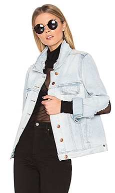 Rock N Roller Jacket in Sea Salt