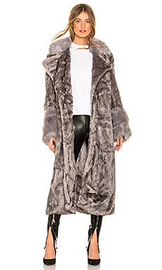 Verona Faux Fur Coat One Teaspoon $347