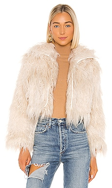 Axel Faux Fur Jacket One Teaspoon $350