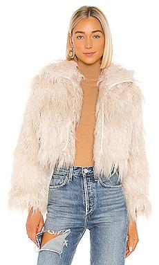 Axel Faux Fur Jacket One Teaspoon $350 NEW ARRIVAL