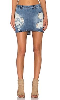3ea1e402b9 One Teaspoon Mini Freelove Skirt in Dirty Ford