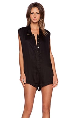 One Teaspoon Valentine Jumpsuit in Black