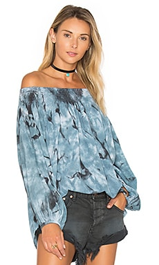 Moon Ridge Sugar Top in Blue