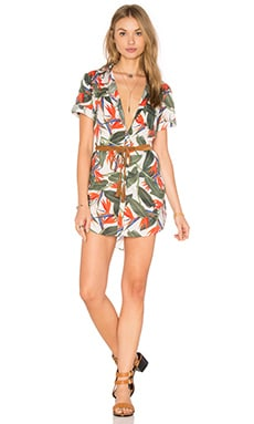 onia Jesse Shirt Dress in Birds of Paradise