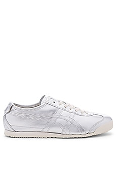 Onitsuka Tiger Mexico 66 in Silver & Silver