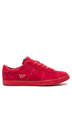 Onitsuka Tiger Lawnship in Red & Red