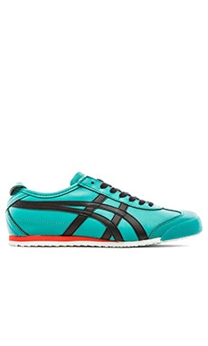 Onitsuka Tiger Mexico 66 in Tropical Green Black