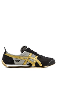 Onitsuka Tiger Fencing in Black Gold