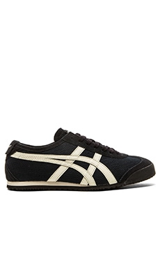Onitsuka Tiger Mexico 66 in Black Off White