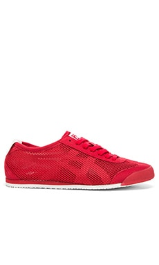 Onitsuka Tiger Mexico 66 in Red Red