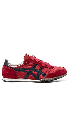 Onitsuka Tiger Serrano in Burgundy Navy
