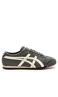Onitsuka Tiger Mexico 66 in Dark Grey Off White