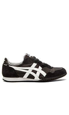 Onitsuka Tiger Serrano Sneaker in Black & White