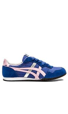 Onitsuka Tiger Serrano Sneaker in Monaco Blue & Cameo Pink