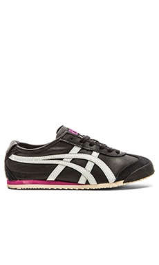 Onitsuka Tiger Mexico 66 Sneaker in Black & Soft Grey