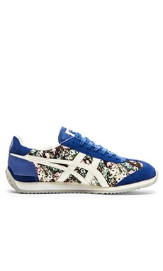 Onitsuka Tiger x Nowart Textile California 78 Sneaker in Monaco Blue & Slight White