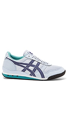 Onitsuka Tiger Ultimate 81 Sneaker in Blue Bell & Blue Grass
