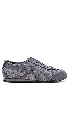 Onitsuka Tiger Mexico 66 Sneaker in Dark Grey & Dark Grey
