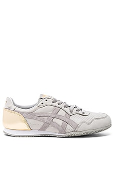 Onitsuka Tiger Serrano Sneaker in Light Grey & Light Grey