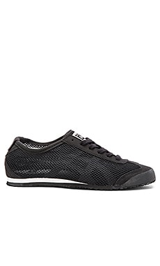 Onitsuka Tiger Mexico 66 Sneaker in Black & White