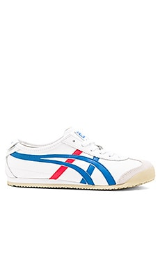 Onitsuka Tiger Mexico 66 Sneaker in White & Blue