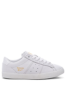 Onitsuka Tiger Lawnship Sneaker in White & White