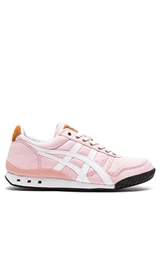 Onitsuka Tiger Ultimate 81 in Coral and White