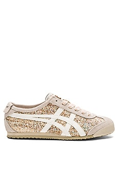 Onitsuka Tiger Mexico 66 Sneaker in Off White & Slight White