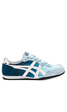 Onitsuka Tiger Serrano Sneaker in Crystal Blue & Slight White