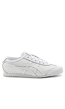 Mexico 66 Sneaker in White & White
