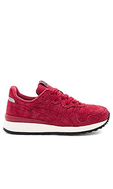 Tiger Alliance Sneaker in Burgundy & Burgundy