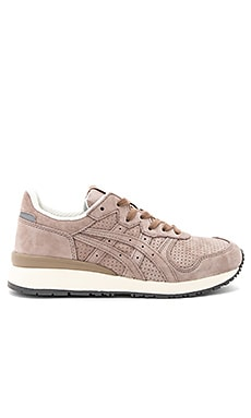 Tiger Ally Sneaker in Taupe Grey & Taupe Grey