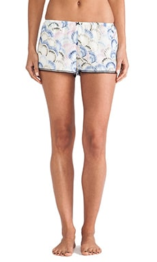 Only Hearts Birth of Venus Sleep Shorts in Multi