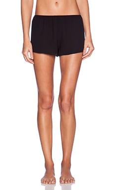 Only Hearts West of the Moon Sleep Shorts in Black